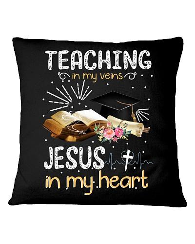 TEACHING IN MY VEINS - JESUS IN MY HEART