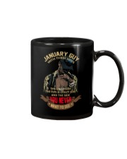 JANUARY GUY WITH THREE SIDES Mug thumbnail