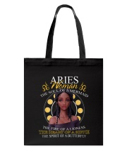 ARIES WOMAN - THE SOUL OF A MERMAID Tote Bag thumbnail
