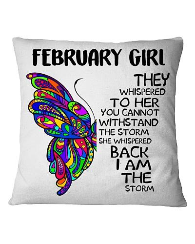 FEBRUARY GIRL - SHE WHISPERED BACK I AM THE STORM