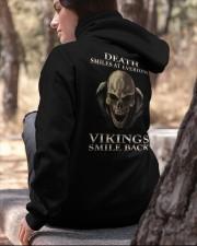 VIKINGS VALHALLA - DEATH SMILES Hooded Sweatshirt apparel-hooded-sweatshirt-lifestyle-06