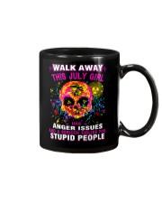 THIS JULY GIRL HAS ANGER ISSUES Mug thumbnail