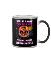 THIS JULY GIRL HAS ANGER ISSUES Color Changing Mug thumbnail