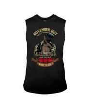 NOVEMBER GUY WITH THREE SIDES Sleeveless Tee thumbnail