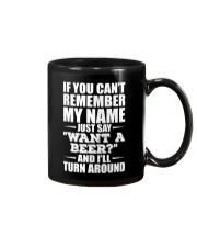 ''WANT A BEER'' - BEER TIME Mug thumbnail