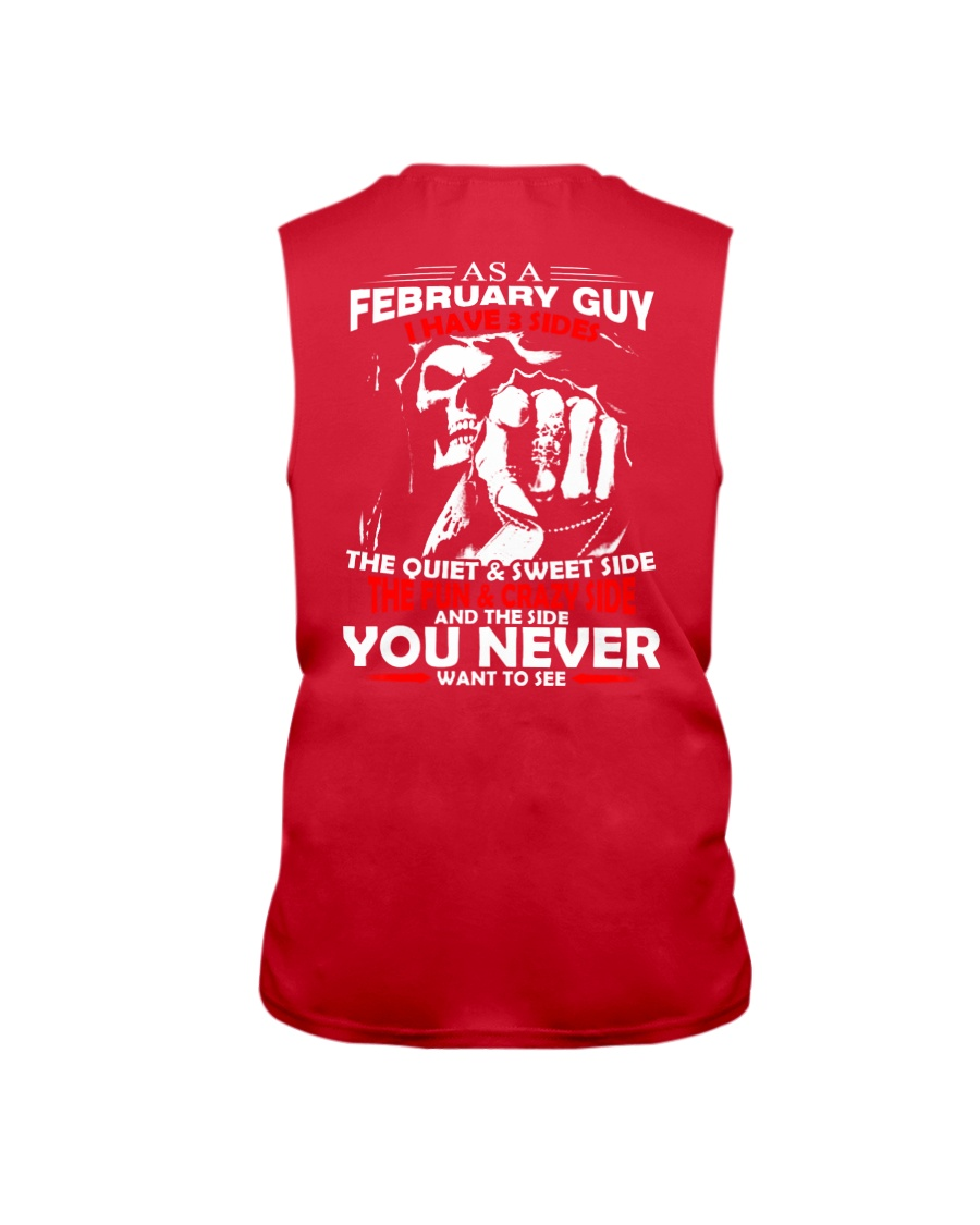 AS A FEBRUARY GUY - I HAVE 3 SIDES Sleeveless Tee