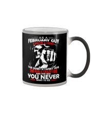 AS A FEBRUARY GUY - I HAVE 3 SIDES Color Changing Mug thumbnail