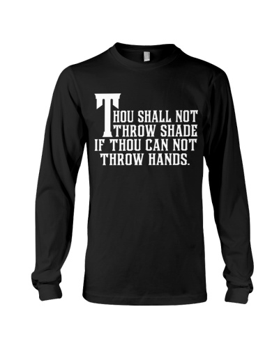 THOU SHALL NOT THROW SHADE - AFRICAN AMERICAN