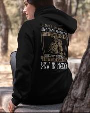VIKINGS VALHALLA - SHOW NO MERCY Hooded Sweatshirt apparel-hooded-sweatshirt-lifestyle-06