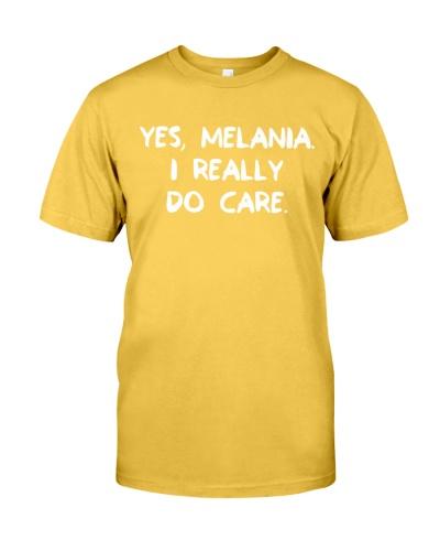 YES MELANIA - I REALLY DO CARE