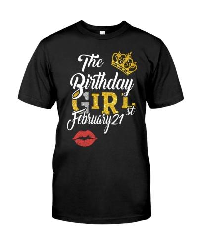 THE BIRTHDAY GIRL 21ST FEBRUARY