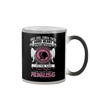 I WAS BORN IN AUGUST Color Changing Mug thumbnail