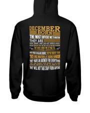 DECEMBER BORN Hooded Sweatshirt thumbnail