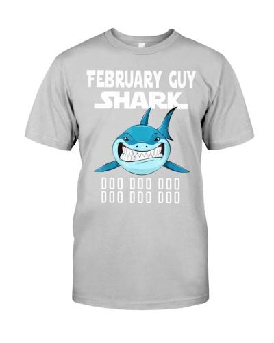 FEBRUARY GUY SHARK DOO DOO DOO