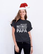 PROFESSINAL PAPA Classic T-Shirt lifestyle-holiday-crewneck-front-1