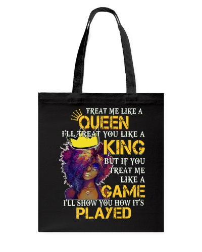QUEEN KING GAME PLAYED - AFRICAN AMERICAN