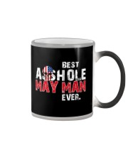 BEST ASSHOLE MAY MAN EVER Color Changing Mug thumbnail