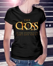 THE CROSS - WARRIOR OF CHRIST Ladies T-Shirt lifestyle-women-crewneck-front-7