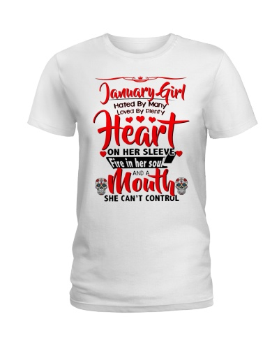 JANUARY GIRL - A MOUTH SHE CAN'T CONTROL