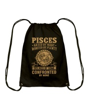 PISCES - HATED BY MANY Drawstring Bag thumbnail