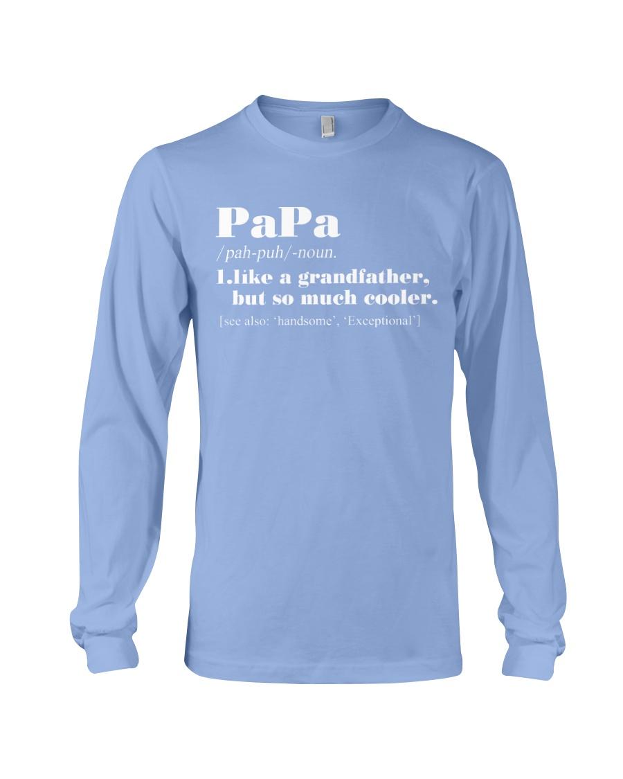 PAPA Long Sleeve Tee