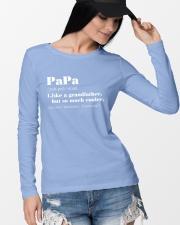 PAPA Long Sleeve Tee lifestyle-unisex-longsleeve-front-4