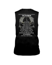 NEVER UNDERESTIMATE A MAN WHO WAS BORN IN OCTORBER Sleeveless Tee thumbnail