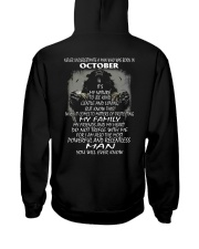 NEVER UNDERESTIMATE A MAN WHO WAS BORN IN OCTORBER Hooded Sweatshirt thumbnail