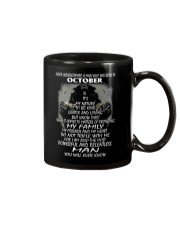 NEVER UNDERESTIMATE A MAN WHO WAS BORN IN OCTORBER Mug thumbnail