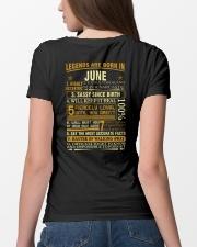 LEGENDS ARE BORN IN JUNE Ladies T-Shirt lifestyle-women-crewneck-back-4