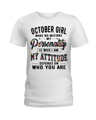 OCTOBER GIRL MAKE NO MISTAKE