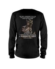 DEVIL WHISPERED - WARRIOR OF CHRIST Long Sleeve Tee thumbnail
