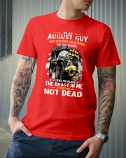 AUGUST GUY MAY SEEM QUIET AND RESERVED Classic T-Shirt lifestyle-mens-crewneck-front-6