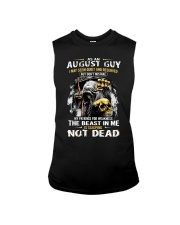 AUGUST GUY MAY SEEM QUIET AND RESERVED Sleeveless Tee thumbnail