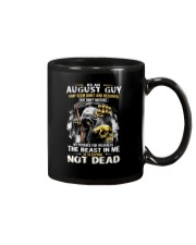 AUGUST GUY MAY SEEM QUIET AND RESERVED Mug thumbnail