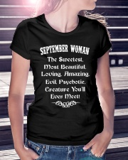 SEPTEMBER WOMAN - YOU WILL EVER MEET Ladies T-Shirt lifestyle-women-crewneck-front-7