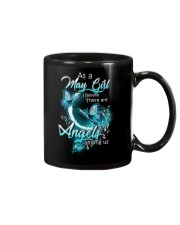 MAY GIRL BELIEVE THERE ARE ANGELS AMONG US Mug thumbnail