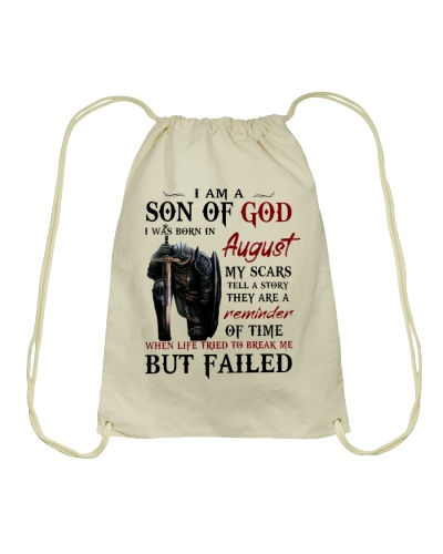 I AM A SON OF GOD I WAS BORN IN AUGUST