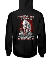 FEBRUARY GUY THE KIND OF MAN Hooded Sweatshirt thumbnail