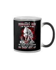 FEBRUARY GUY THE KIND OF MAN Color Changing Mug thumbnail