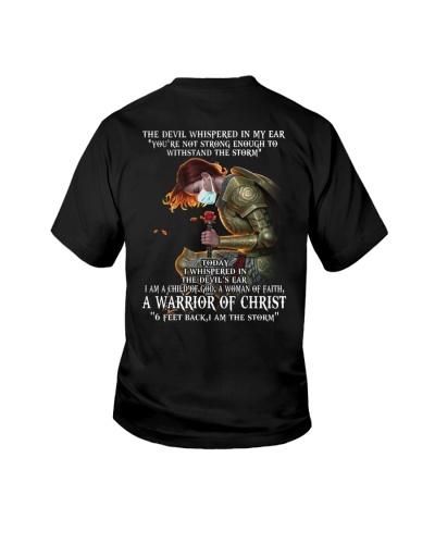 DEVIL WHISPERED - WARRIOR OF CHRIST - JESUS