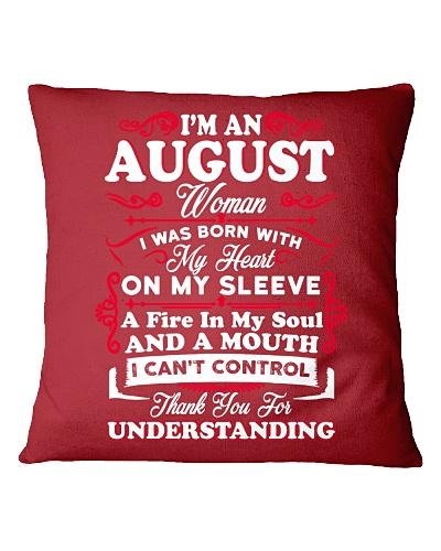 AUGUST WOMAN - A FIRE IN MY SOUL