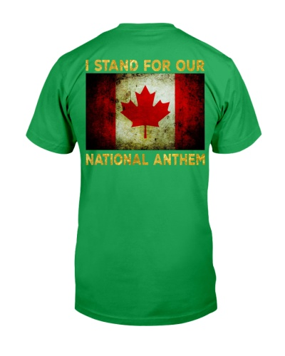 I STAND FOR OUR NATIONAL ANTHEM - CANADA