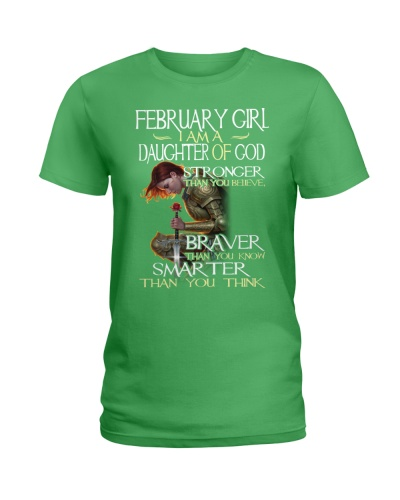 FEBRUARY GIRL - I AM A DAUGHTER OF GOD