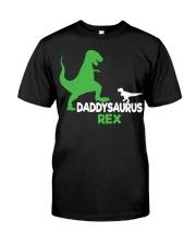 DADDY SAURUS REX Classic T-Shirt front