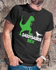DADDY SAURUS REX Classic T-Shirt lifestyle-mens-crewneck-front-4