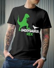 DADDY SAURUS REX Classic T-Shirt lifestyle-mens-crewneck-front-6