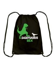 DADDY SAURUS REX Drawstring Bag thumbnail