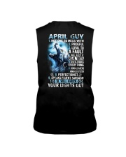 APRIL GUY NOT ONE TO MESS WITH Sleeveless Tee thumbnail