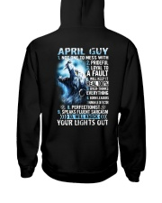 APRIL GUY NOT ONE TO MESS WITH Hooded Sweatshirt thumbnail